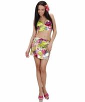 Tropische outfit voor dames