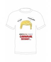 Trump t-shirt met quote voor volwassenen