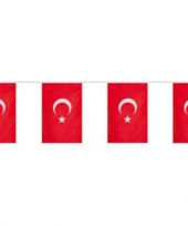 Turkije landen decoratie slingers