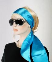 Turqoise dames sjaaltje