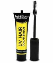Uv haarmascara geel