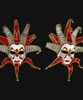 Venetiaanse maskers muziek joker