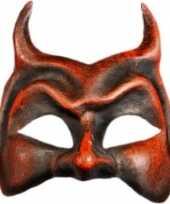 Venetiaanse maskers rode duivel
