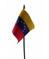 Venezolaanse landenvlag op stokje