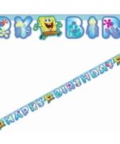 Verjaardags feest slinger spongebob