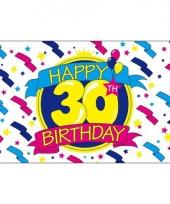 Verjaardags vlaggen 30 jaar