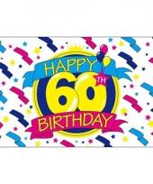 Verjaardags vlaggen 60 jaar