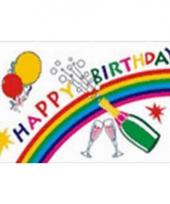 Verjaardagsvlag happy birthday