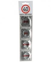 Verkeersbord condooms 40 jaar