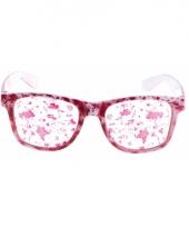 Verkleed bril met bloedvlekken