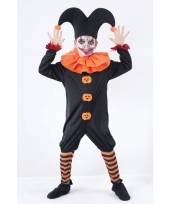 Verkleed kostuum halloween harlekijn