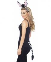 Verkleed set zebra 10078163