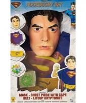 Verkleed setje superman kinderen