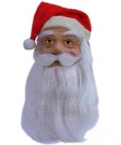 Verkleedmasker kerstman