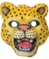 Verkleedmasker panter voor kids