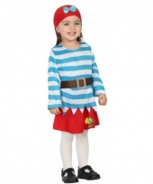 Verkleedpak piraat rokje voor peuters