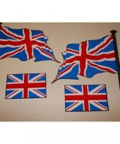 Vier engeland stickers 4 stuks