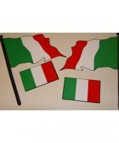 Vier italiaanse stickers