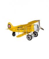 Vintage speelgoed vliegtuig 20 cm
