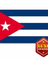 Vlag cuba zware kwaliteit