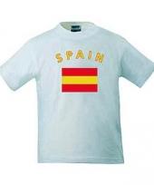 Vlag spanje t-shirts