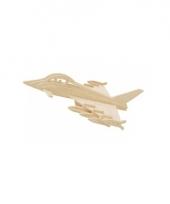 Vliegtuig bouwpakket puzzel eurofighter