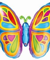 Vlinder folie ballon 63 cm