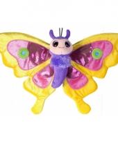 Vlinder knuffeldieren 38 cm 10055765