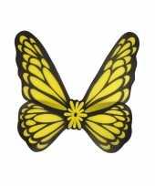 Vlinder verkleed vleugels geel volwassenen