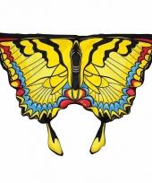 Vlinder verkleed vleugels voor kids gele zwaluwstaart