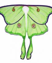 Vlinder verkleed vleugels voor kids maanvlinder