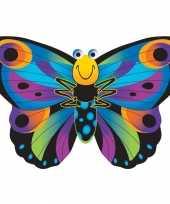 Vlinder vlieger gekleurd 76 x 112 cm