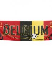 Voetbal banner belgium 220 cm