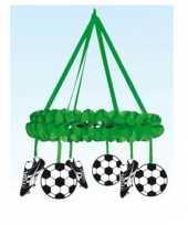Voetbal decoratie krans