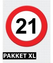 Voordeelbox 21 jaar artikelen xl