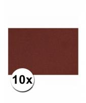 Voordeelpakket 10 bordeaux rode vellen a4