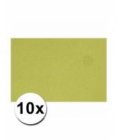 Voordeelpakket 10 groene vellen a4