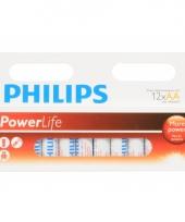 Voordelige aa batterijen alkaline set 12x