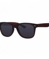 Voordelige bruine kinder zonnebril