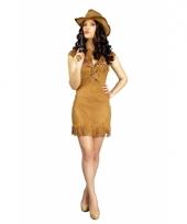 Voordelige cowgirl dames verkleedkleding