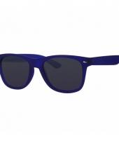 Voordelige donkerblauwe kinder zonnebril
