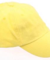 Voordelige gele petjes