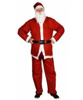 Voordelige kerstman verkleedkleding