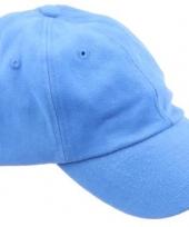 Voordelige lichtblauwe petjes
