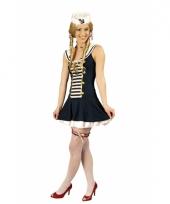 Voordelige matroos dames verkleedkleding