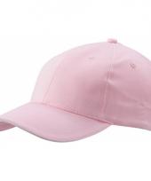 Voordelige zacht roze baseball cap