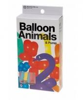 Vouw ballonnen dieren 24 stuks