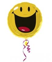 Vrolijke ballon in de vorm van een smiley