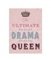 Wand decoratie drama queen