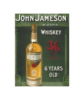 Wand decoratie john jameson
